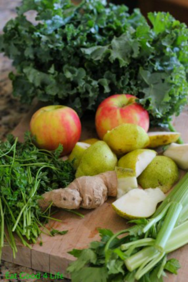 Zeleni sok za detoksikaciju Hrani se zdravo: Zeleni sok za detoksikaciju