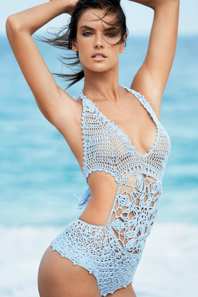 alesandra ambrosio na naslovnici magazina vogue brazil 2 Prelepa Alesandra Ambrosio na naslovnici magazina Vogue Brazil