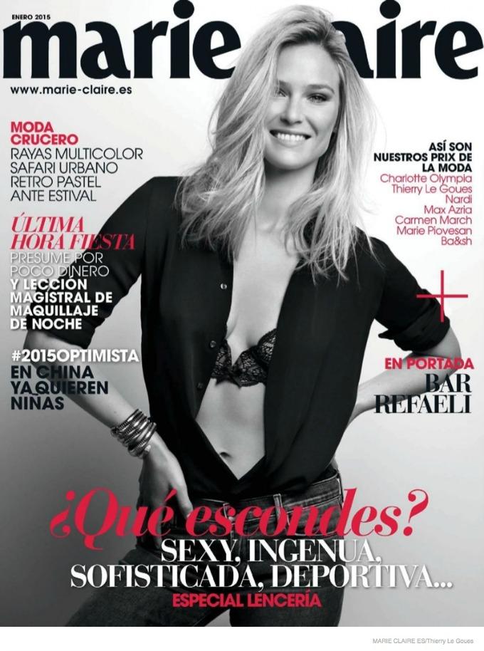 bar refaeli 1 Bar Refaeli na naslovnici magazina Marie Claire Spain