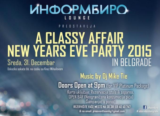 classy party Nova godina je i za menadžere