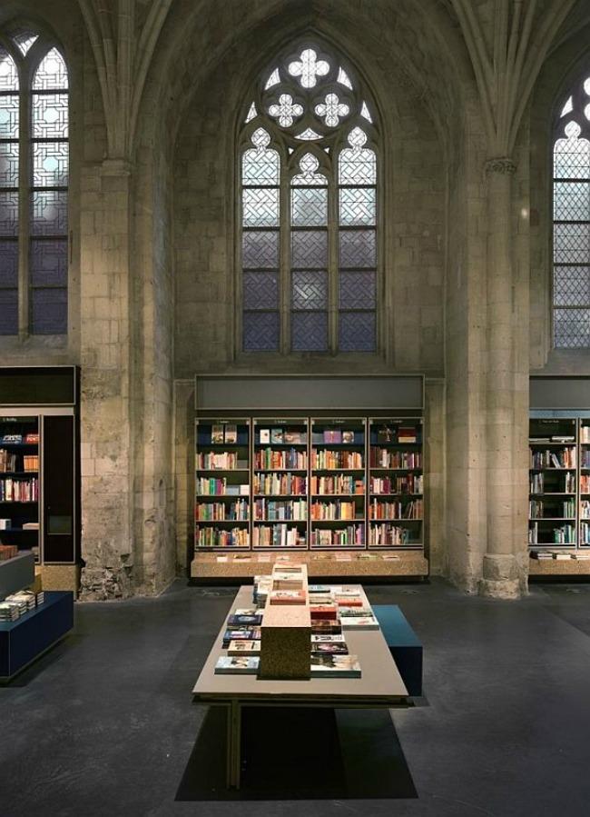 crkva pretvorena u knjizaru 7 Neobični enterijer katedrale pretvorene u knjižaru