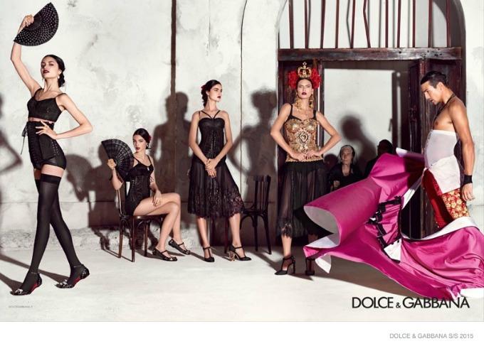 dolce gabbana 1 Duh Španije u kampanji brenda Dolce & Gabbana