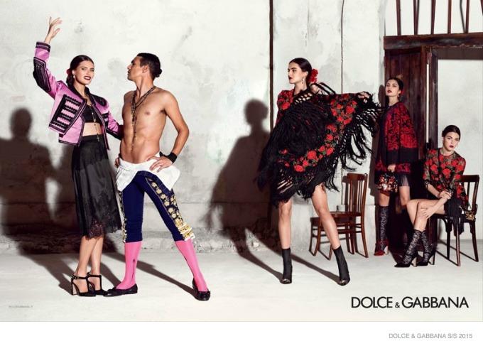 dolce gabbana 4 Duh Španije u kampanji brenda Dolce & Gabbana
