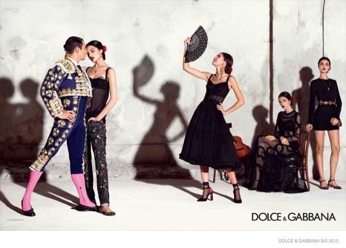 dolce gabbana 5 Duh Španije u kampanji brenda Dolce & Gabbana