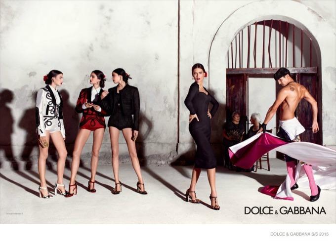 dolce gabbana 7 Duh Španije u kampanji brenda Dolce & Gabbana