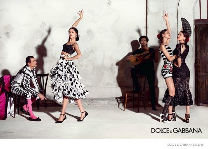 dolce gabbana 8 Duh Španije u kampanji brenda Dolce & Gabbana