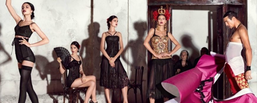 Duh Španije u kampanji brenda Dolce & Gabbana