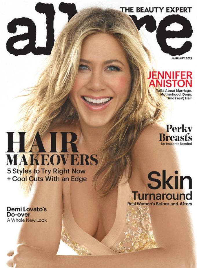 dzenifer eniston 1 Seksi Dženifer Eniston na naslovnici magazina Allure
