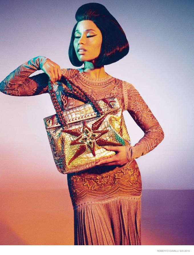 glamourozna niki minaz 5 Glamurozna Niki Minaž u kampanji brenda Roberto Cavalli