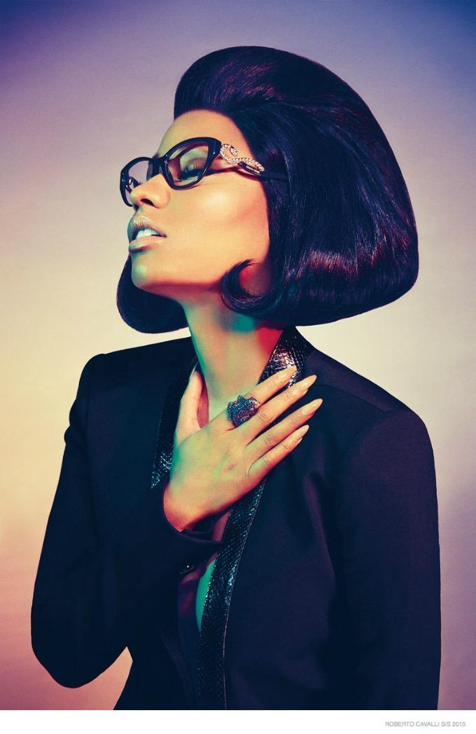 glamourozna niki minaz 7 Glamurozna Niki Minaž u kampanji brenda Roberto Cavalli