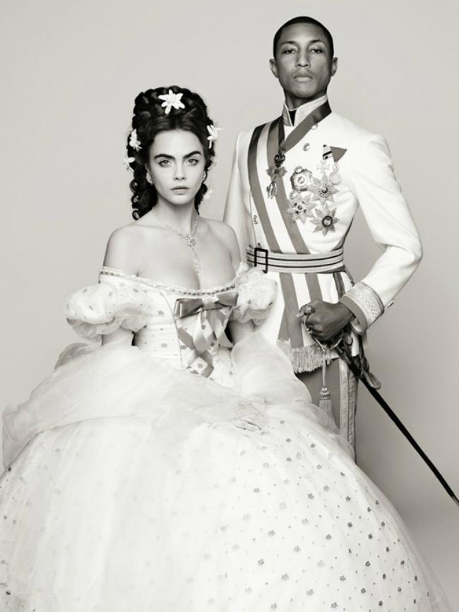 kara delevinj i farel vilijams u sanelovoj bajci 1 Chanel bajka: Kara Delevinj i Farel Vilijams