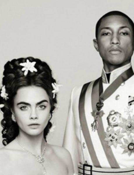 Chanel bajka: Kara Delevinj i Farel Vilijams