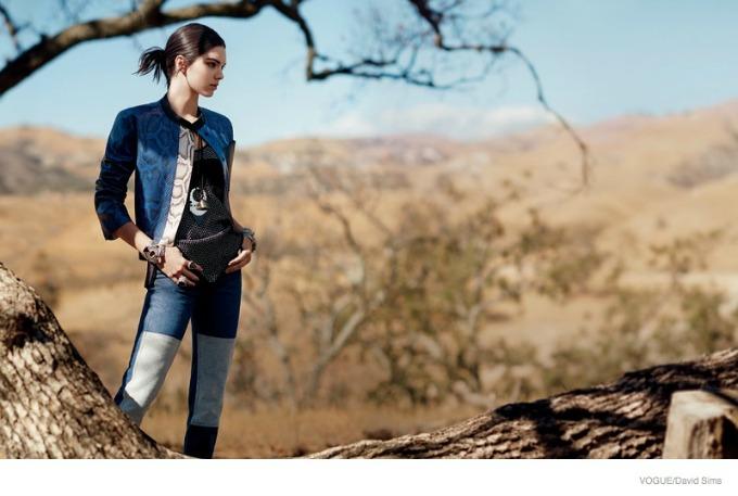 kendal dzener u novom editorijalu magazina vogue 1 Kendal Džener u novom editorijalu magazina Vogue