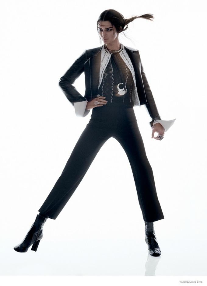 kendal dzener u novom editorijalu magazina vogue 2 Kendal Džener u novom editorijalu magazina Vogue