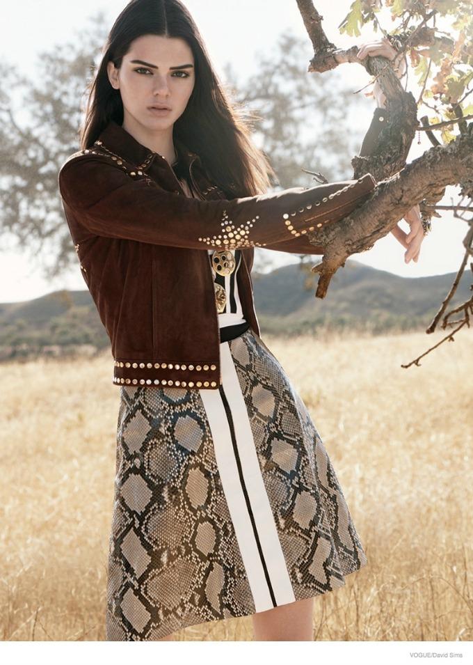 kendal dzener u novom editorijalu magazina vogue 3 Kendal Džener u novom editorijalu magazina Vogue