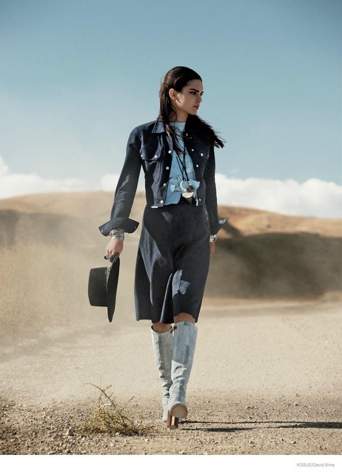 kendal dzener u novom editorijalu magazina vogue 5 Kendal Džener u novom editorijalu magazina Vogue