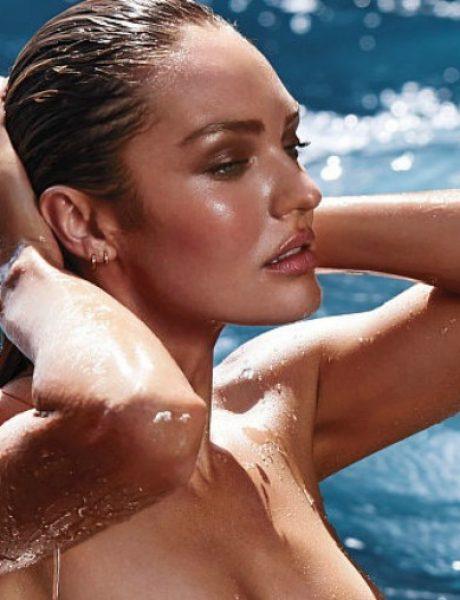 Kendis Svonpoel zavodljiva u bikiniju