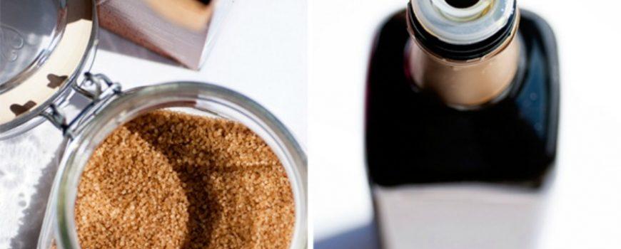 Piling od smeđeg šećera i maslinovog ulja