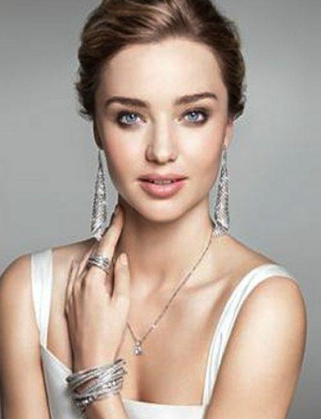 Miranda Ker blista u kampanji brenda Swarovski