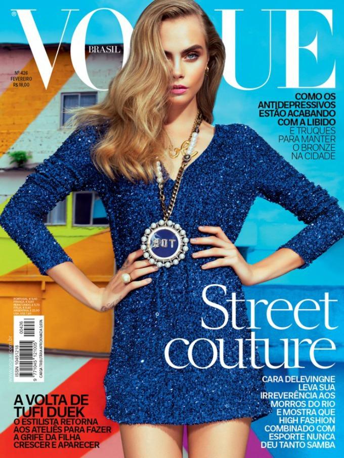 najbolje vogue naslovnice u 2014 godini kara delevinj Najbolje Vogue naslovnice u 2014. godini