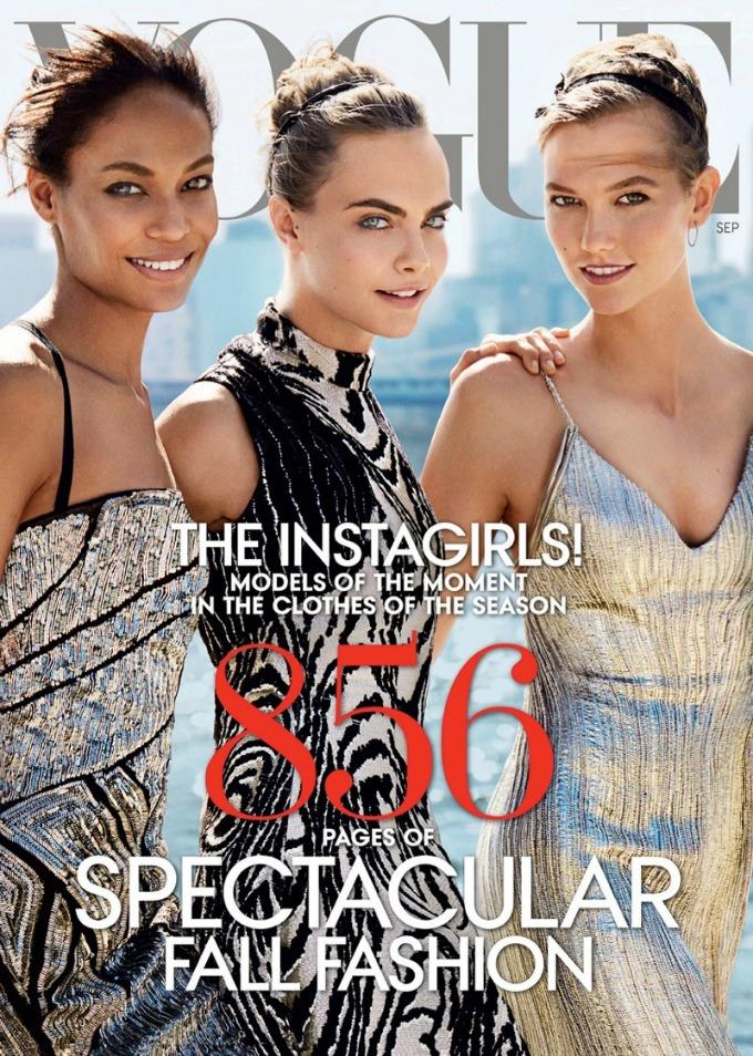 najbolje vogue naslovnice u 2014 godini karli dzoan i kara Najbolje Vogue naslovnice u 2014. godini