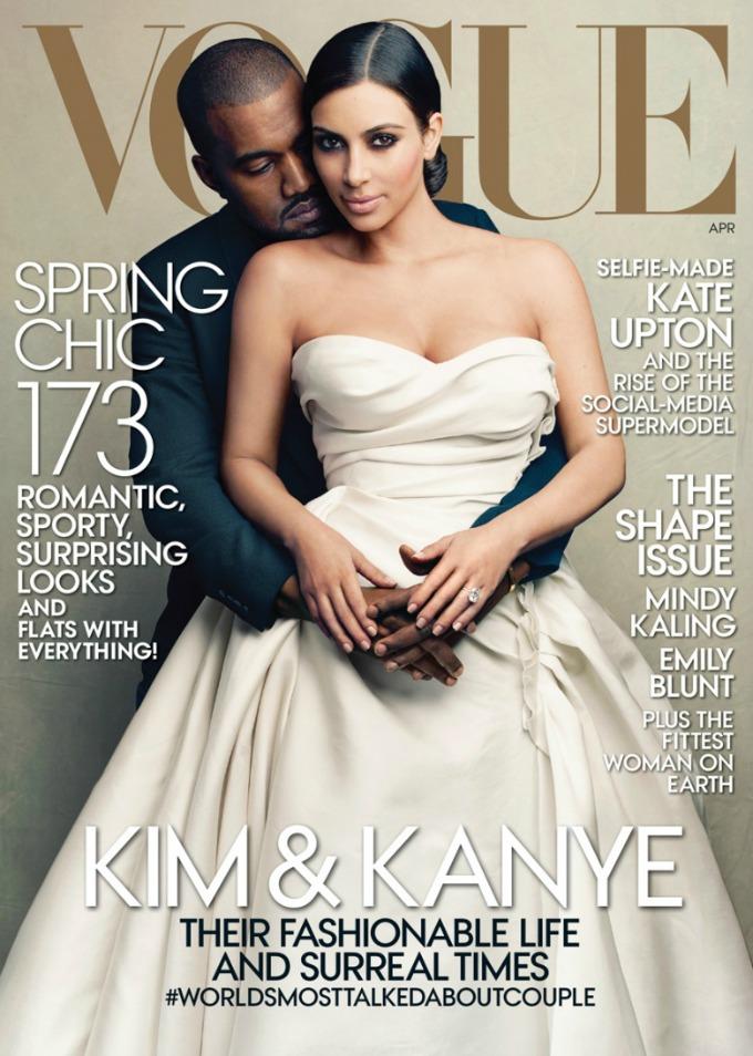 najbolje vogue naslovnice u 2014 godini kim i kanje Najbolje Vogue naslovnice u 2014. godini