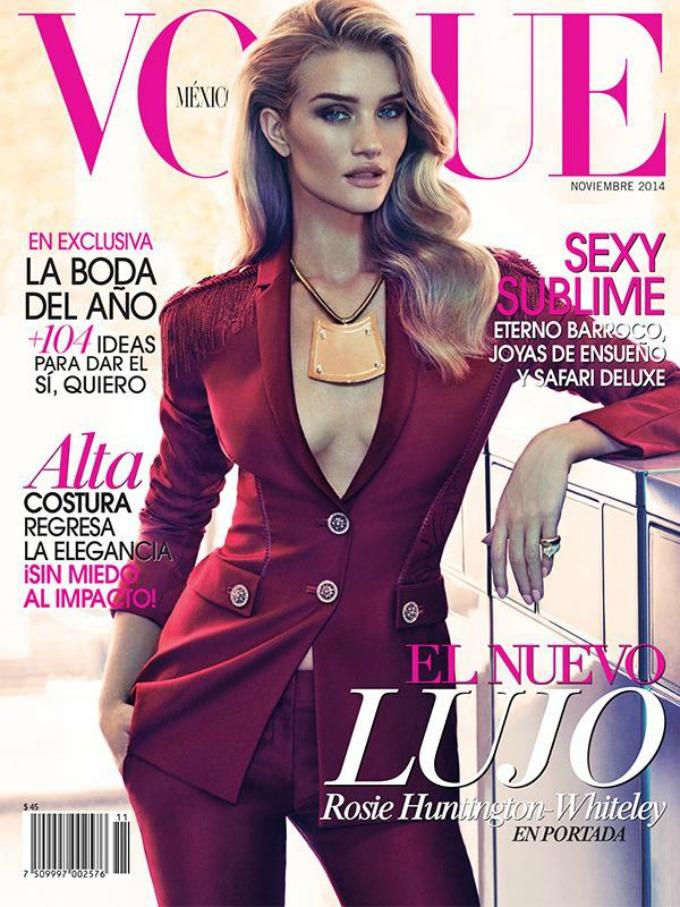 najbolje vogue naslovnice u 2014 godini rouzi hantington vajtli Najbolje Vogue naslovnice u 2014. godini
