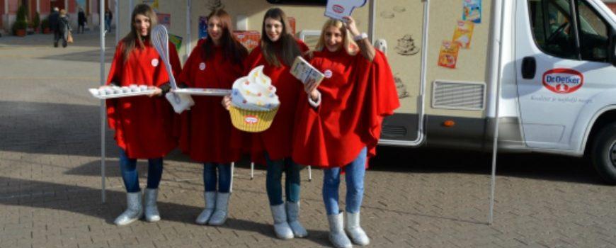Novogodišnji Dr.Oetker karavan stiže u Beograd