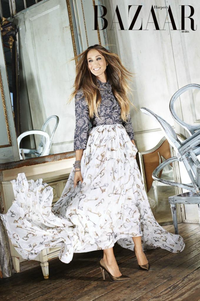 sara dzesika parker 8 Sara Džesika Parker za Harpers Bazaar Arabia