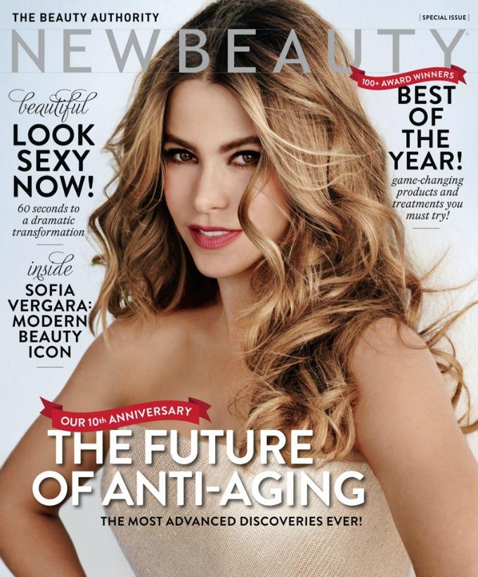sofija vergara 1 Sofija Vergara na naslovnici magazina NewBeauty