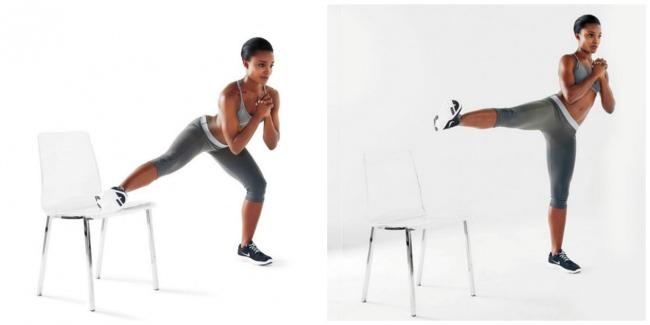 vezbe sa stolicom 5 Savršen trening kod kuće