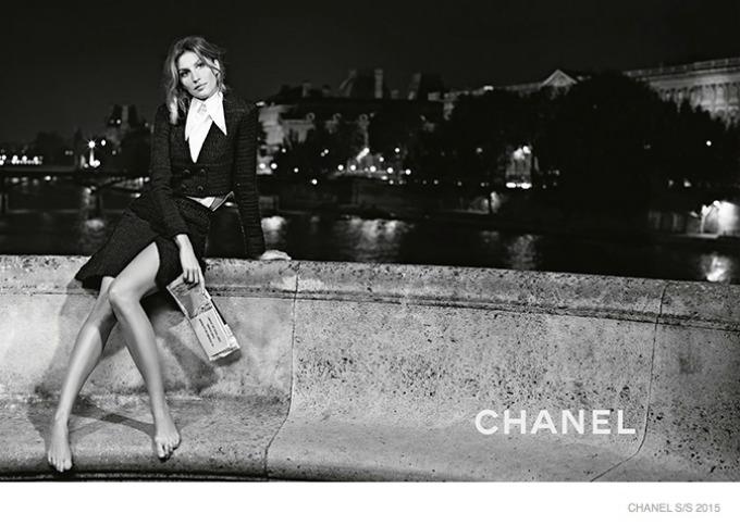 zizel bundsen u prolecnoj kampanji modne kuce chanel 1 Žizel Bundšen u prolećnoj kampanji modne kuće Chanel