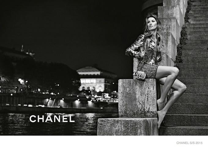 zizel bundsen u prolecnoj kampanji modne kuce chanel 10 Žizel Bundšen u prolećnoj kampanji modne kuće Chanel