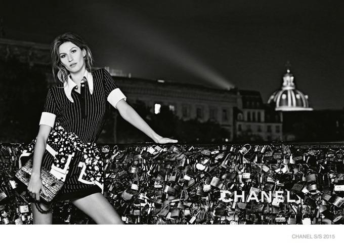 zizel bundsen u prolecnoj kampanji modne kuce chanel 2 Žizel Bundšen u prolećnoj kampanji modne kuće Chanel