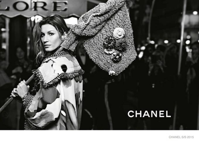 zizel bundsen u prolecnoj kampanji modne kuce chanel 4 Žizel Bundšen u prolećnoj kampanji modne kuće Chanel