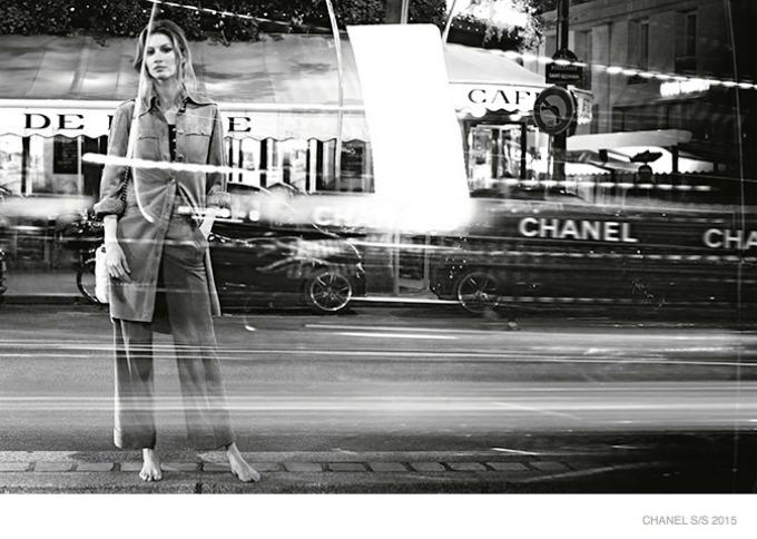 zizel bundsen u prolecnoj kampanji modne kuce chanel 5 Žizel Bundšen u prolećnoj kampanji modne kuće Chanel