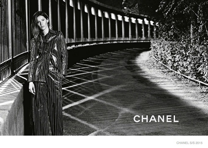 zizel bundsen u prolecnoj kampanji modne kuce chanel 6 Žizel Bundšen u prolećnoj kampanji modne kuće Chanel