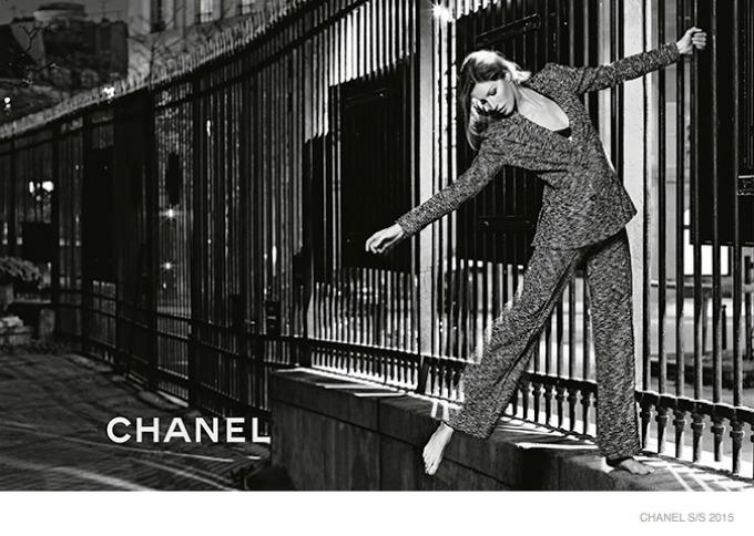 zizel bundsen u prolecnoj kampanji modne kuce chanel 7 Žizel Bundšen u prolećnoj kampanji modne kuće Chanel