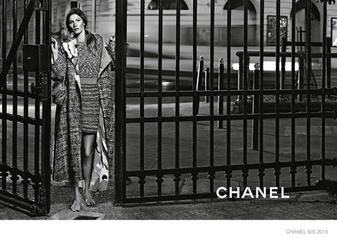 zizel bundsen u prolecnoj kampanji modne kuce chanel 8 Žizel Bundšen u prolećnoj kampanji modne kuće Chanel
