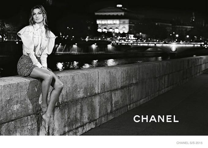 zizel bundsen u prolecnoj kampanji modne kuce chanel 9 Žizel Bundšen u prolećnoj kampanji modne kuće Chanel