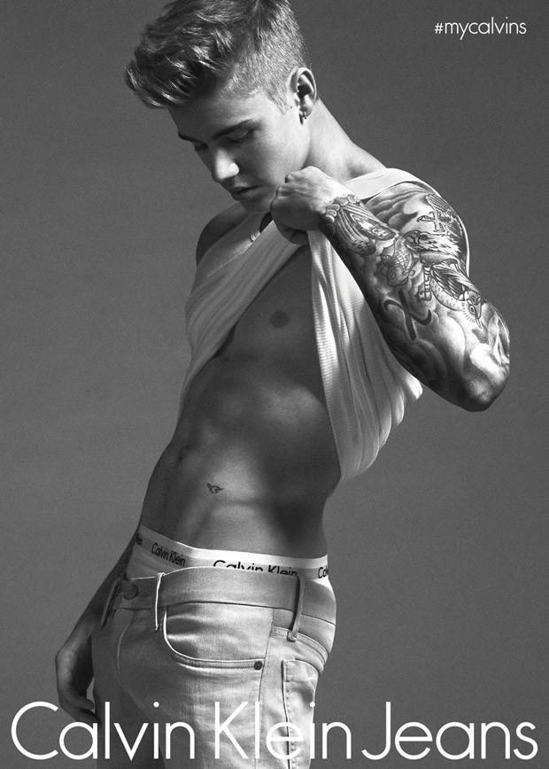 Calvin Klein Jeans Spring Summer 2015 06 dzastin biber Džastin Biber i Lara Stoun: Seksi kao nikad do sad