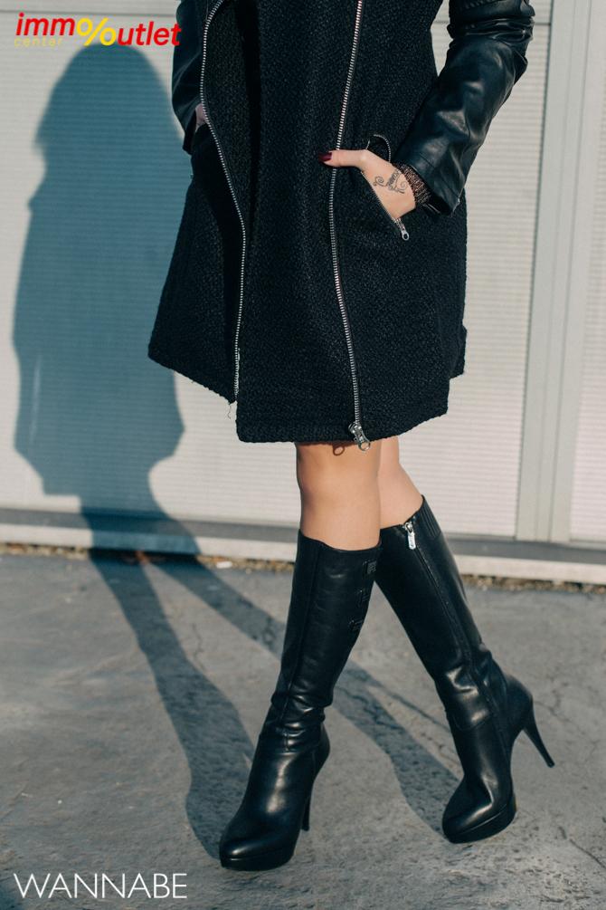Fashion predlog Immo outlet center Wannabe Ana Maksimovic 4 Modni predlozi iz Immo Outlet Centra: Crna kakvu želimo