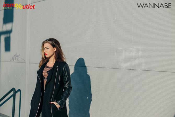 Fashion predlog Immo outlet center Wannabe Ana Maksimovic 5 Modni predlozi iz Immo Outlet Centra: Crna kakvu želimo