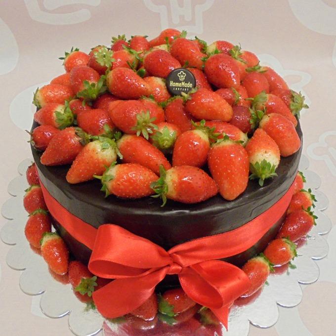 Medena jagoda za post Savršena torta sa jagodama: Medena jagoda