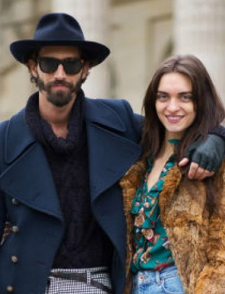 Street style na Paris Haute Couture nedelji mode