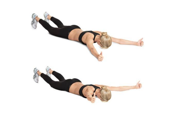 Vežbe protiv sala na leđima 2 Vežbe protiv sala na leđima