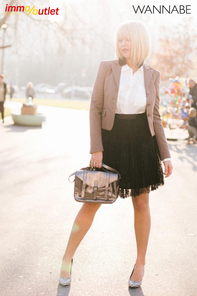 Wannabe fashion predlog Immo outlet center Wannabe blogger 11 Modni predlozi iz Immo Outlet Centra: Čista elegancija