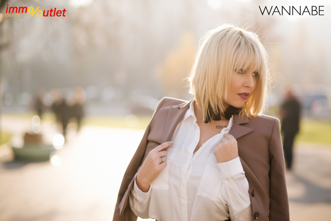 Wannabe fashion predlog Immo outlet center Wannabe blogger 12 Modni predlozi iz Immo Outlet Centra: Čista elegancija