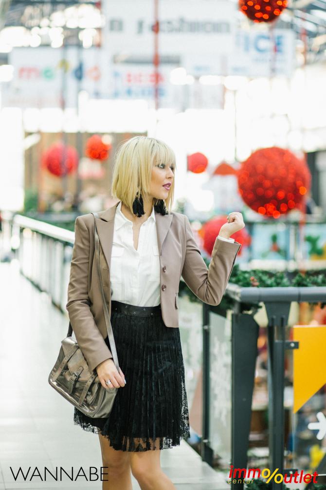 Wannabe fashion predlog Immo outlet center Wannabe blogger 15 Modni predlozi iz Immo Outlet Centra: Čista elegancija