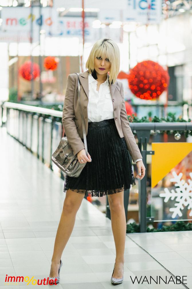 Wannabe fashion predlog Immo outlet center Wannabe blogger 16 Modni predlozi iz Immo Outlet Centra: Čista elegancija
